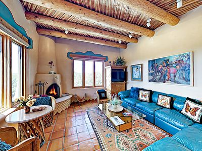 Living Room - Welcome to Santa Fe! This casita is professionally managed by TurnKey Vacation Rentals.