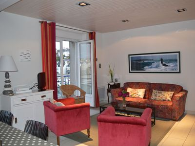 Photo for BEAUTIFUL APARTMENT WITH VIEWS OF THE PORT AUDIERNE 4 PEOPLE - WIFI