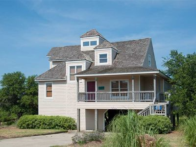 Photo for Sound Choice: 4 bedroom home, keyless entry, soundside, Village Beach Club membership