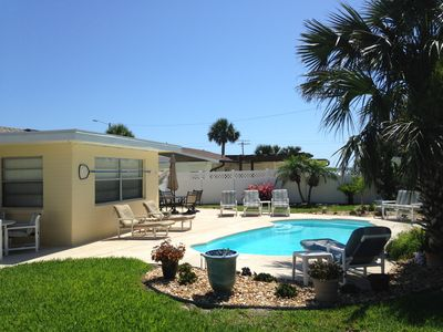 Photo for Affordable Pool & Beach Cottage, Second Home from Beach,