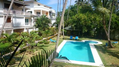 Cozy apartment - 2 Bedrooms A/C - 2 Bathrooms - Pool - 100 M Beach/bars/rest - Free Wifi