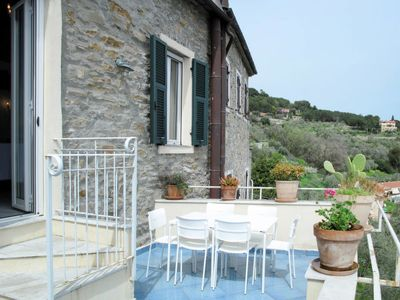 Photo for Vacation home Ca dell' India (SLR330) in San Lorenzo al Mare - 8 persons, 4 bedrooms