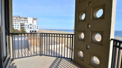 Photo for #212 Ocean Front Studio Condo, 1 Bedroom, 1 Bath, One Virginia Avenue, Rehoboth Beach DE