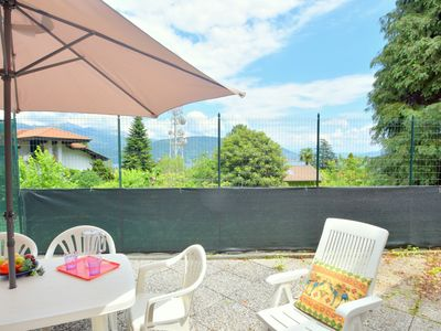 Photo for Quaint Holiday Home at Baveno with Lake View