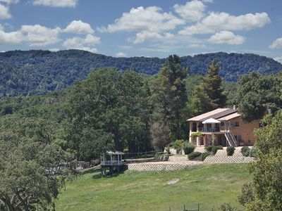Photo for Beautiful Large Home with 10 BDR + 2 BDR cabin, sleeps 30+ Enjoy Wine Country!