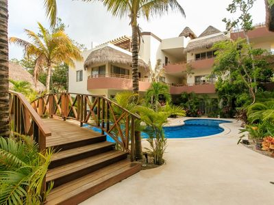 Photo for Comfortable condo with Jacuzzi in Tulum by Happy Address