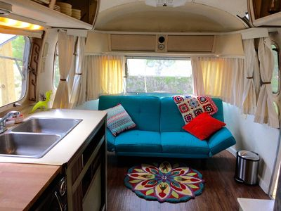 Photo for Secluded Airstream near Breweries, Wineries, Weddings & Hamilton Pool