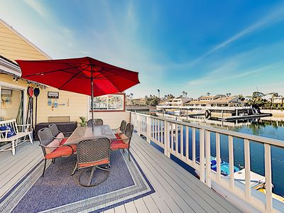 Photo for Waterfront Dream w/ Private Dock, Kayaks, Fireplace & Gourmet Kitchen