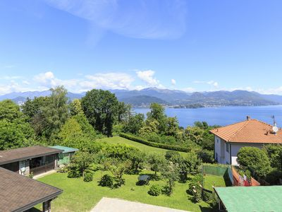 Photo for Stresa | Charming large house with garden and superb lake view