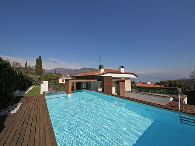 Photo for SINGLE VILLA ELENA 3 BEDROOMS 2 BATHROOMS GARDEN AND PRIVATE POOL