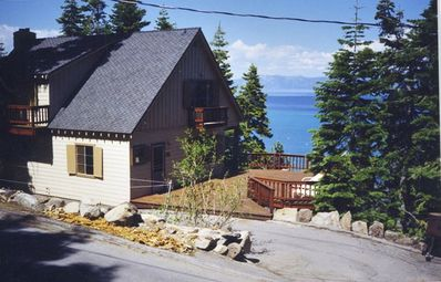 Photo for Pano Lakeview 4 Bedroom Home Rubicon Bay Lake Tahoe