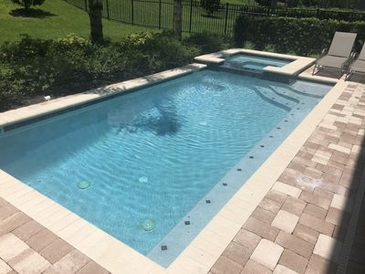 Photo for 8 BEDROOM PREMIUM HOUSE POOL + SPA + GRILL  10min from DISNEY!