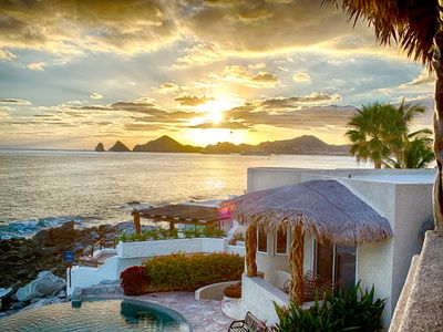 Photo for Luxury Oceanfront Villa in Cabo San Lucas