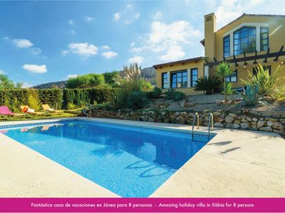 Photo for STUNNING VILLA IN JÁVEA FOR 8P. WITH PRIVATE POOL AND GARDEN