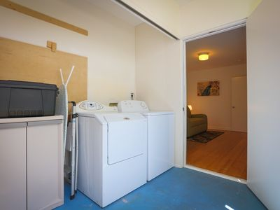 Laundry - Pack light: there's a washer/dryer in your rental