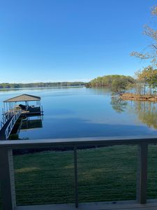 Photo for Enjoying TLC.  The Legacy Cottage is second to none. Private and best lake view.
