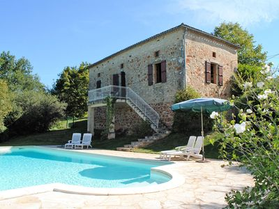 Photo for Maison Corneille, 10ps + large private swimming pool