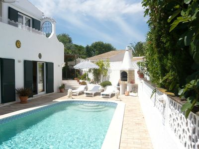 Photo for Traditional Portuguese villa with private pool & fabulous 180' Sea Views