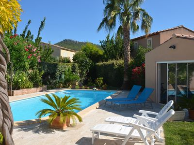 Photo for PROVENCAL VILLA WITH SWIMMING POOL .. HOLIDAYS WITHOUT CAR