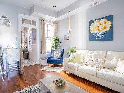Photo for Eclectic Loft near Riverfront and Mainstrasse!!