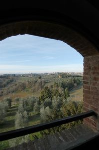 Photo for Stay in the  tower of a genuine medieval castle in Tuscany.