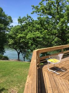 Photo for Beautiful Lakehouse with private dock on Apple Canyon Lake!