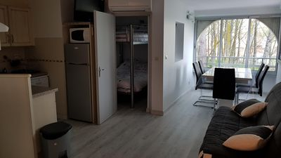 Photo for Air-conditioned apartment Cap d'Agde
