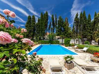 Photo for VILLA with pool in Mondello 15 people
