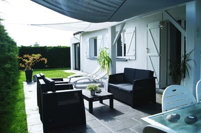 For A Zen Stay On The Bassin D Arcachon Nice Villa With Spa La
