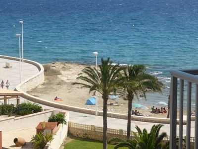 Photo for MILENA 3 SEA VIEW APARTMENT 50 M FROM THE BEACH