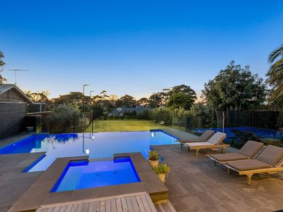 Photo for Holiday Resort - Mount Martha - Pool, Spa and Tennis Court
