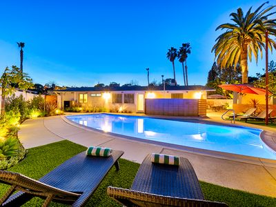 Photo for 10% OFF JUN - Contemporary Home w/ Pool, Hot Tub, Firepit & More!