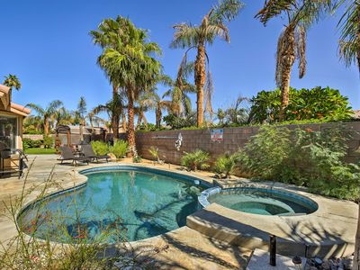 Photo for NEW Private Desert Oasis w/Pool, Spa & Golf Course