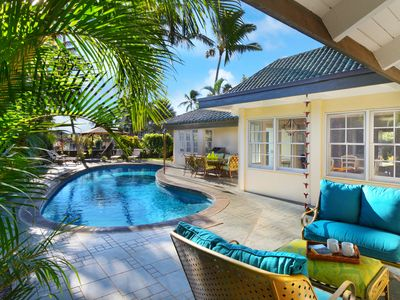 Photo for Seclusion and Privacy with AC & pool!  BEST VALUE IN POIPU!