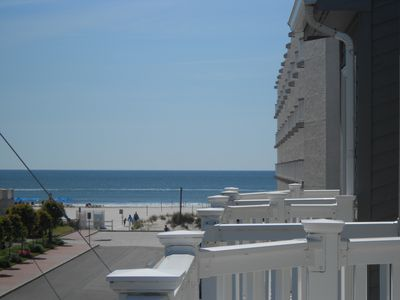 Photo for Ocean View & Steps away from the Beach with a Saline Heated Pool