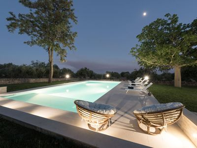 Photo for Beautiful villa with pool, renovated in 2018, overlooking the sea and the countryside
