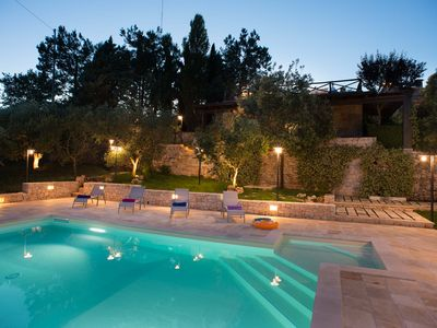 Photo for Trulli with pool and outdoor spaces immersed in nature in Alberobello