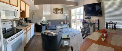 Another angle of living space