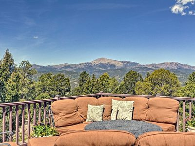 Photo for NEW! Large Ruidoso Home w/Stunning Views & Hot Tub