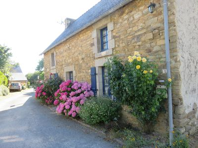 Photo for Stone house 5 pers - 500 m from the sea - MOELAN SUR MER