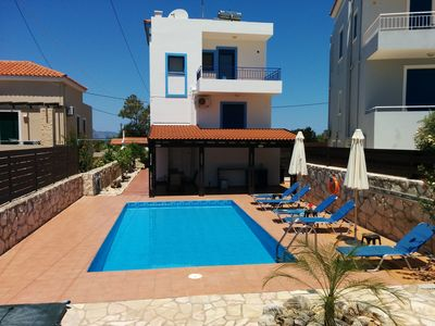 Photo for Villa Olympia - Private pool Sea view near beach and town