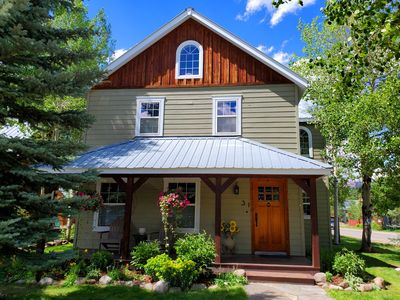 Photo for New Listing - Spacious, bright house in downtown Crested Butte