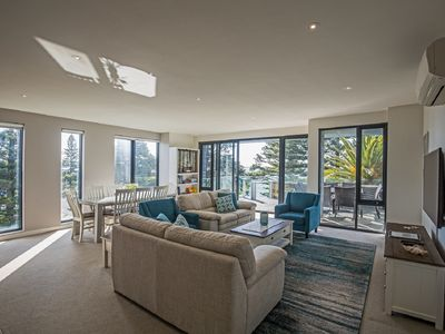 Photo for Beachfront Apartment located on the The Esplanade Cowes