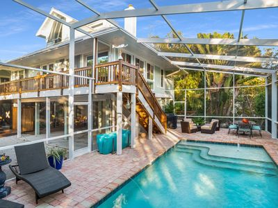 Photo for Luxury Island vacation home so close to the beach