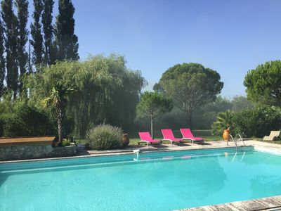 Photo for Very nice gite in provencal mas of the 18th