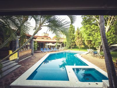 Photo for Stunning property, with wide open spaces, beautiful pool.