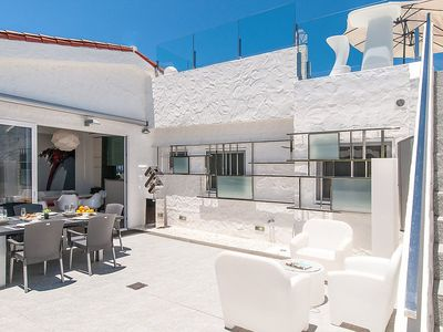 Photo for House in the center of Pasito Blanco with Internet, Pool, Air conditioning, Terrace (128189)