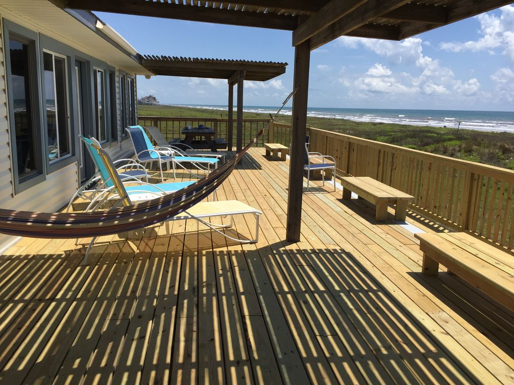 Front row spacious beach house situated on ... - HomeAway