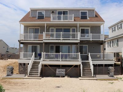 Photo for Lavallette Ocean Front Summer Vacation Rental   Downstairs Unit!