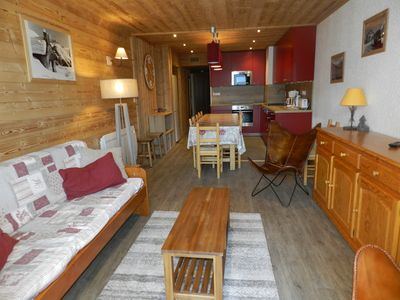 Photo for Beautiful duplex of 100m2 for 10 people, ski in and center